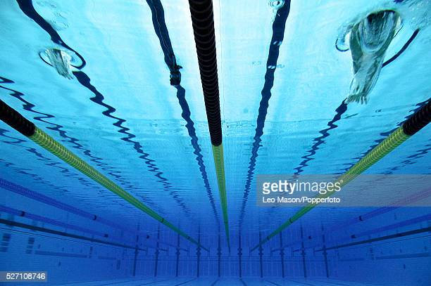British Gas Swimming Championships London Aquatic Centre Mens 100m Butterfly Final