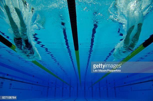 British Gas Swimming Championships London Aquatic Centre Womens 800m Freestyle Final start