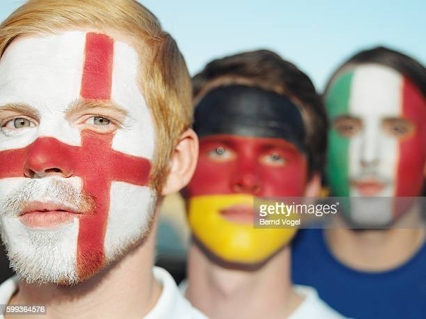 British, German and Italian Sports Fans