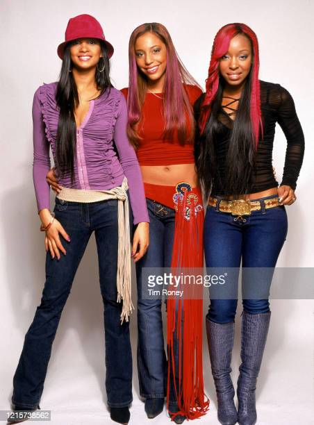 British girl group Mis Teeq circa 2002