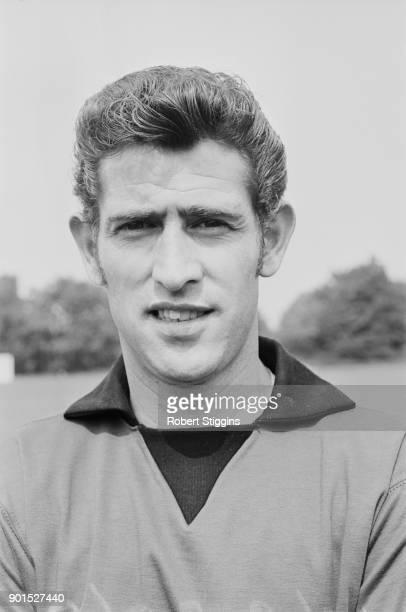 British goalkeeper Peter Bonetti of Chelsea FC 22nd August 1968