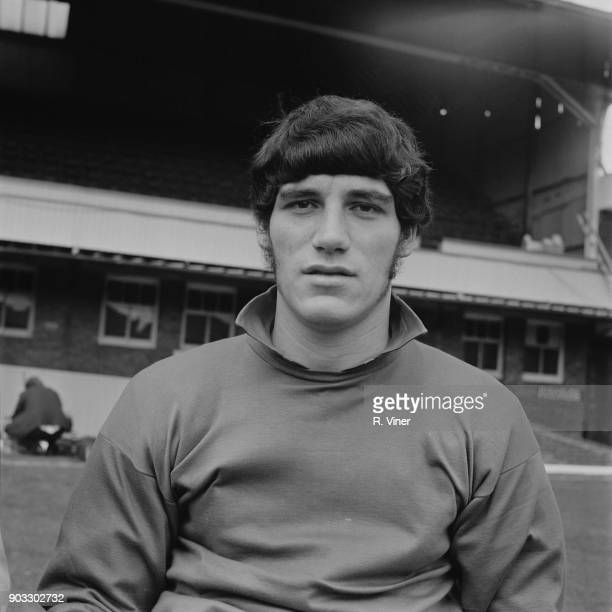 British goalkeeper Phil Parkes of Wolverhampton Wanderers FC 20th August 1968