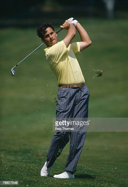 British golfer David Feherty during the Volvo PGA Golf Championship hels at Wentworth, England between the 25th - 27th May 1989.
