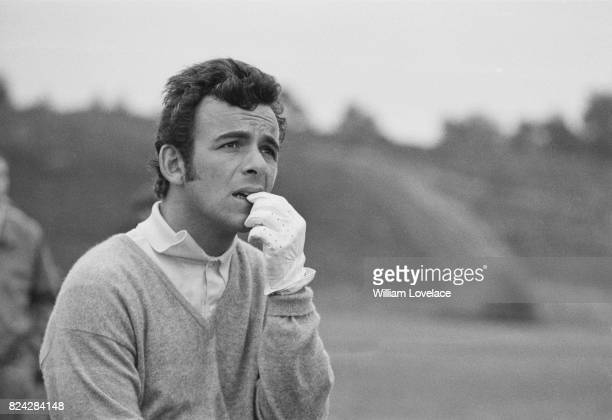 British Golfer Tony Jacklin during his practice at Hollinwell Golf Club, Nottingham, UK, 3rd September 1970.
