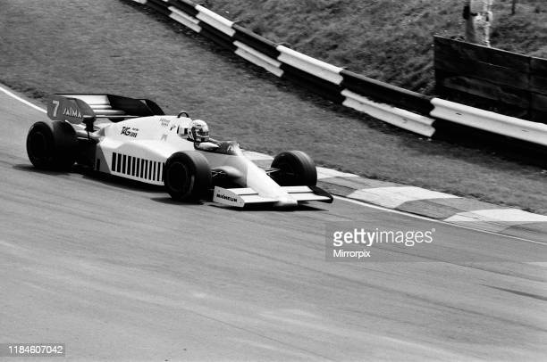 British Grand Prix, Brands Hatch, Sunday 22nd July 1984; pictured: Alain Prost of McLaren-TAG in action.
