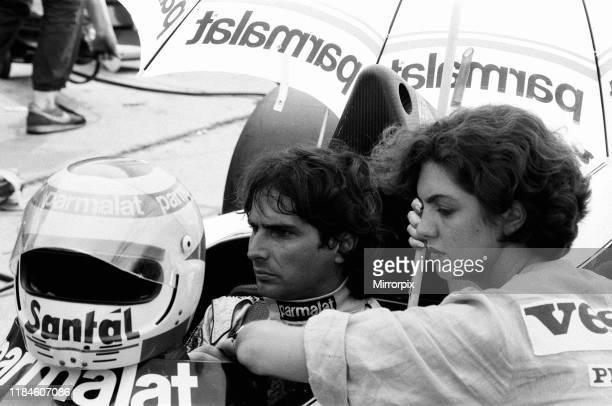 British Grand Prix, Brands Hatch, Sunday 22nd July 1984; pictured: Nelson Piquet, Brabham-BMW, driver.