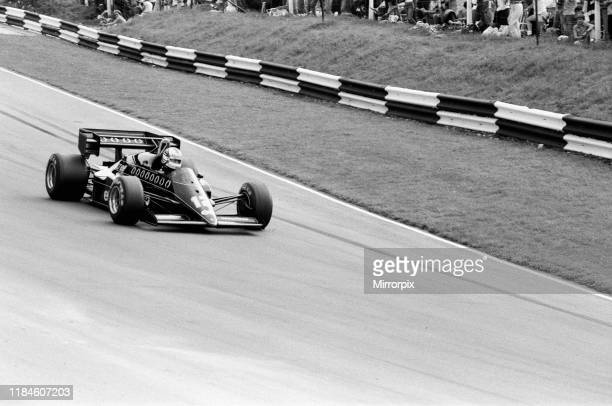 British Grand Prix, Brands Hatch, Sunday 22nd July 1984; pictured: Nigel Mansell, Lotus-Renault in action.