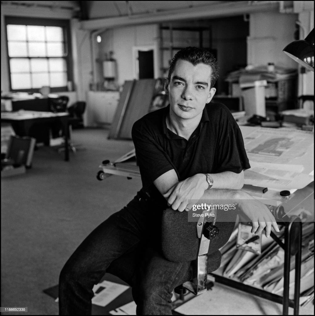 British Graphic Designer Typographer And Art Director Neville News Photo Getty Images