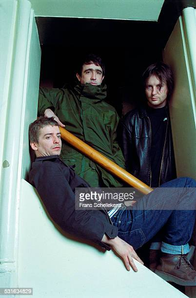 British group I Am Kloot poses on April 14th 2001 at Paradiso in Amsterdam, Netherlands.