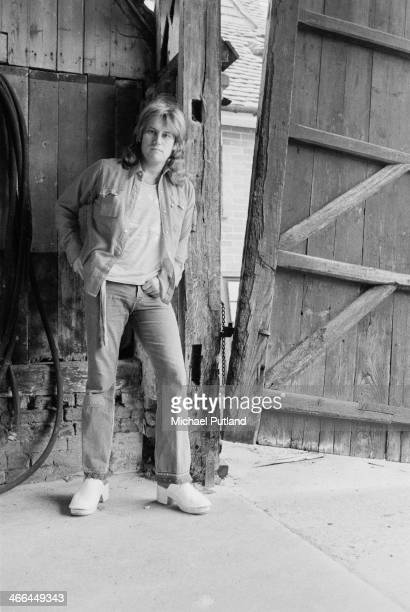 British guitarist and singer Alvin Lee of rock group Ten Years After March 1974