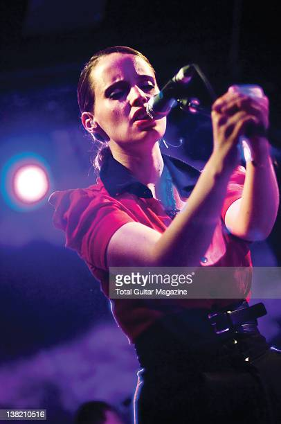 British guitarist and vocalist Anna Calvi Live on stage at the Thekla May 2 2011