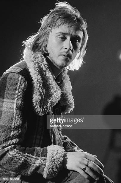 British guitarist singer and songwriter Danny Kirwan formerly of Fleetwood Mac July 1975