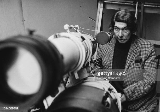 British haematologist Reginald 'Reggie' Lawson Waterfield , known for his work in amateur astronomy, UK, 23rd January 1974.