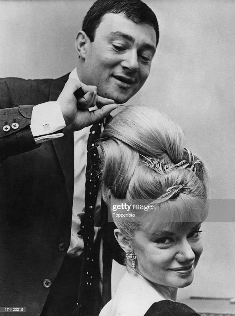 vidal sassoon hair styles sassoon and dayviss pictures getty images 3137