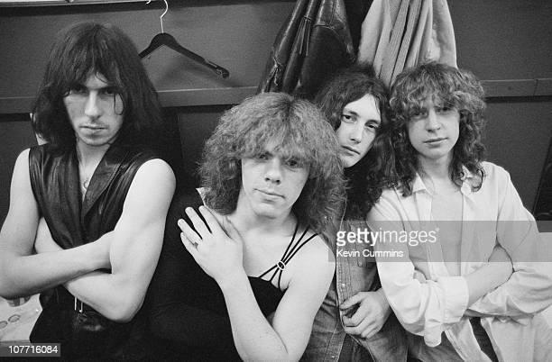British heavy metal band Diamond Head 11th February 1980