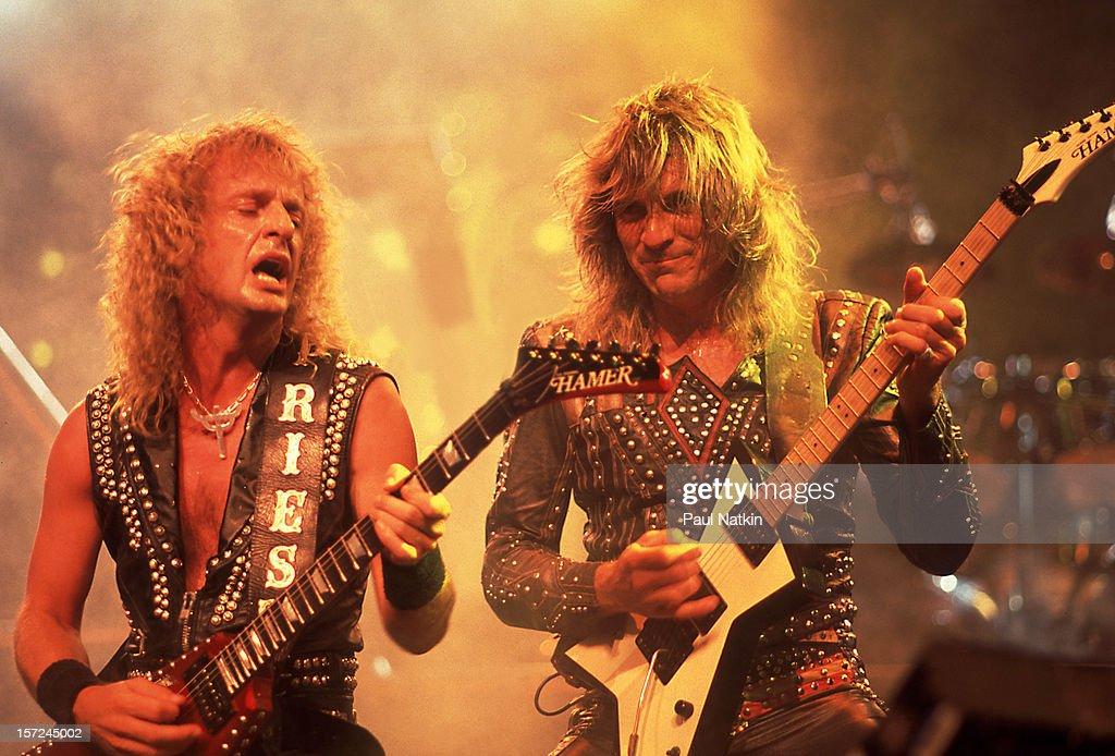 Judas Priest On Stage : News Photo