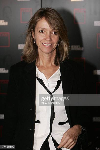 British heiress Sabrina Guinness, Nominee for the Time magazine 'Heroes of the Environment' award, 25 October 2007 arrives at London's Royal Court of...
