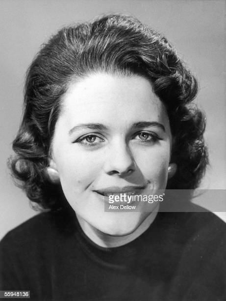 British historian and biographer Antonia Fraser the daughter of Frank Pakenham 7th Earl of Longford 14th March 1956