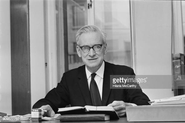 British historian and educationalist Walter Adams at the London School of Economics, UK, 10th December 1968.