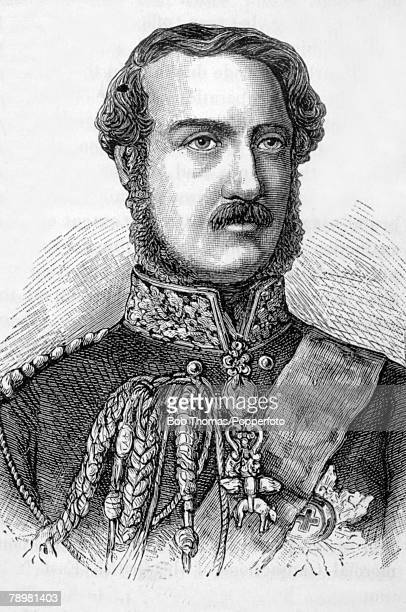 British History Illustration Royalty pic circa 1860 Prince Albert the Prince Consort and husband of Queen Victoria