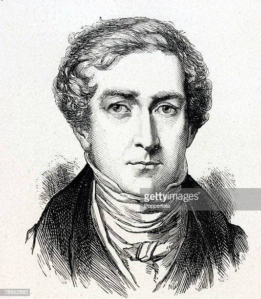 British History Politics Illustration Sir Robert Peel British Statesman As Home Secretary he was responsible for the founding of the London...