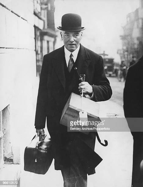 British Home Office pathologist Sir Bernard Spilsbury March 1935