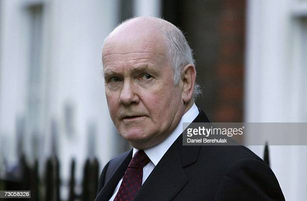 British Home Secretary John Reid departs his residence on January 21 2007 in London England Home Secretary John Reid has suggested a Home Office...