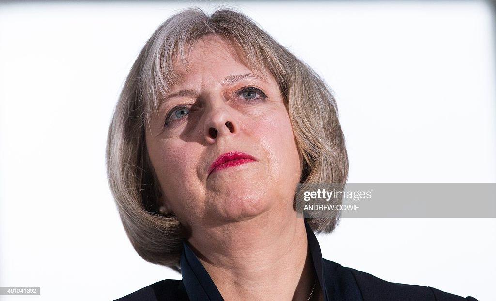 BRITAIN-POLITICS-VOTE-CONSERVATIVE : News Photo