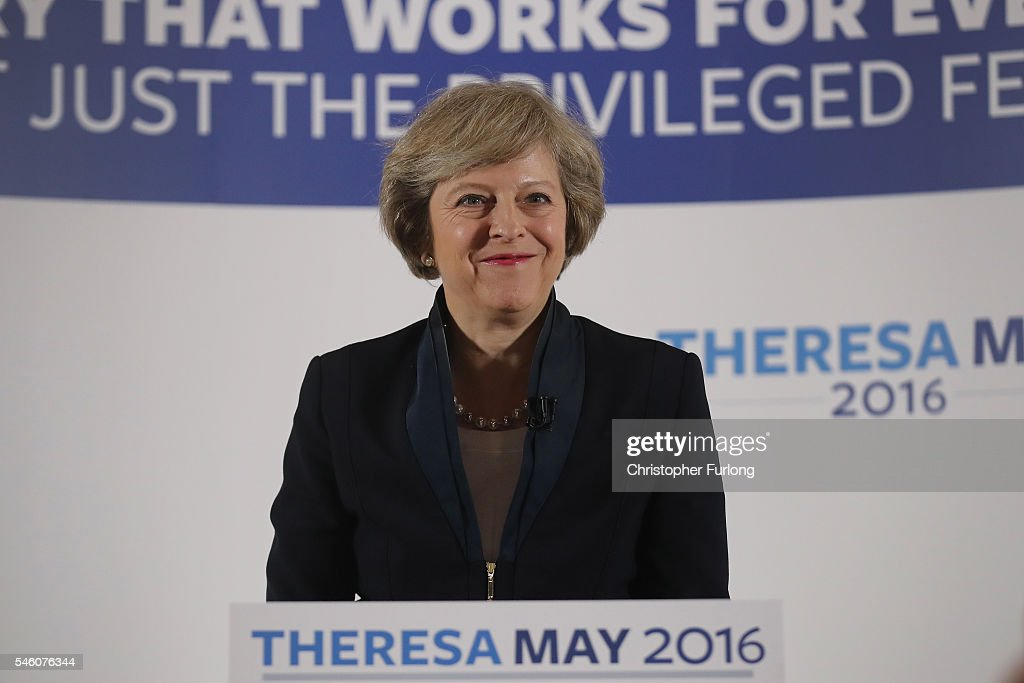 Theresa May Launches Her Campaign For The Conservative Leadership : News Photo