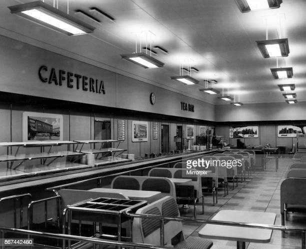 British Home Stores cafeteria New Street Birmingham 1st May 1958