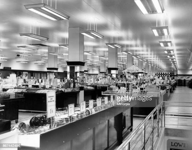 British Home Stores New Street Birmingham 1st May 1958