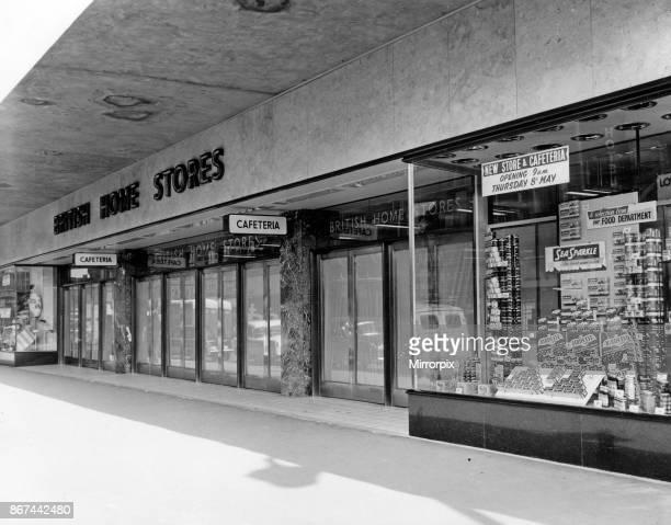 British Home Stores New Street Birmingham West Midlands 1st May 1958