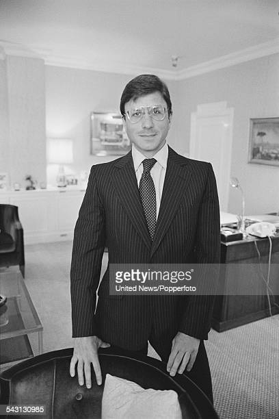 British hotelier and businessman Rocco Forte pictured in London on 17th August 1982