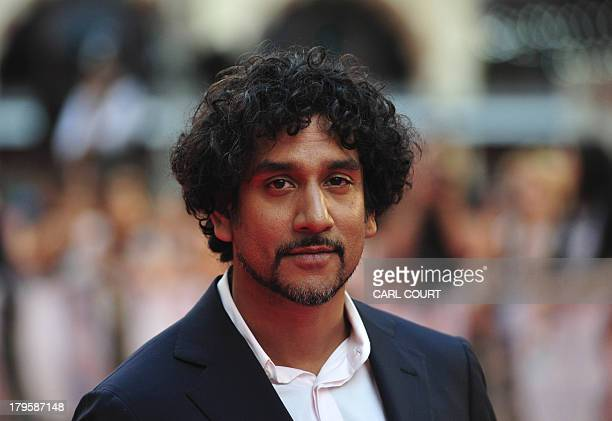 British Indian actor Naveen Andrews attends the world premiere of Diana in central London on September 5 2013 The film is a biopic of the late...