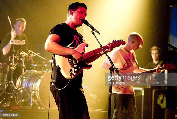 British indie band Alt J performs on stage at Melkweg Amsterdam Netherlands 14 November 2012 Thom Green Joe Newman and Gwil Sainsbury