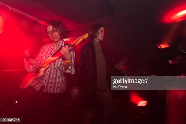 British indie rock band Sheafs caught live at Nambucca for the first date of the iconic club night 'This Feeling' of the year London on January 13...