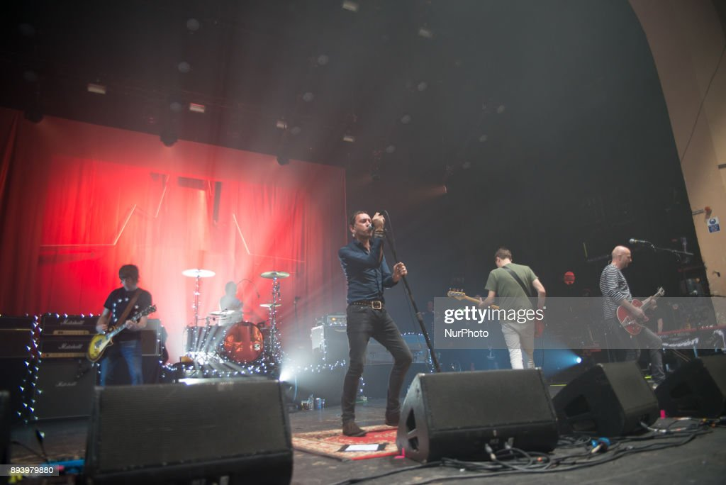 Shed Seven performs At O2 Academy Brixton