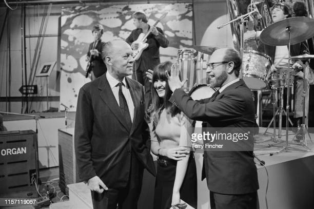 British industrialist and businessman Joseph Lockwood British broadcaster and journalist Cathy McGowan and British television producer and print...