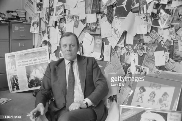 British insurance broker Willie Robertson UK 12th July 1984