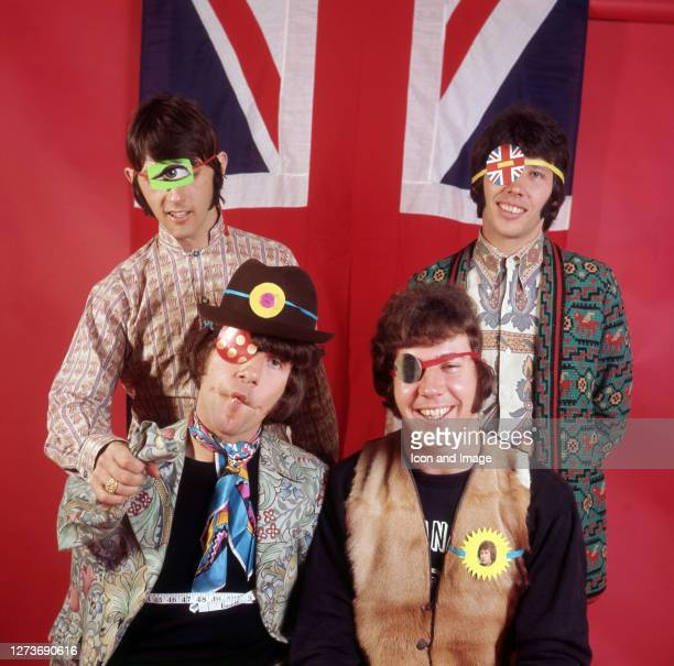 British invasion beat group The Tremeloes including Dave Munden Len Hawkes Alan Blakley and Rick Westwood in London England February 1967
