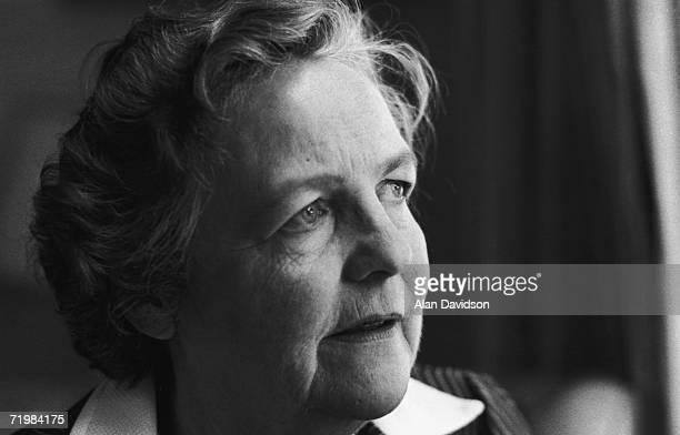 British investigative journalist and writer Jessica Mitford , 3rd September 1979.