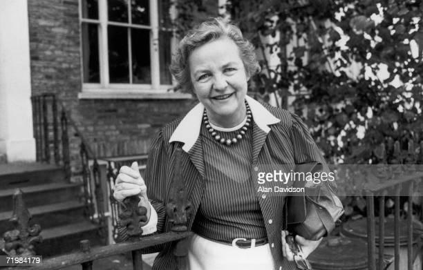 British investigative journalist and writer Jessica Mitford 3rd September 1979