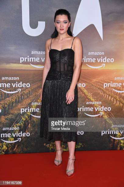 British Isa Briones attends the Star Trek Picard fan screening at Zoo Palast on January 17 2020 in Berlin Germany