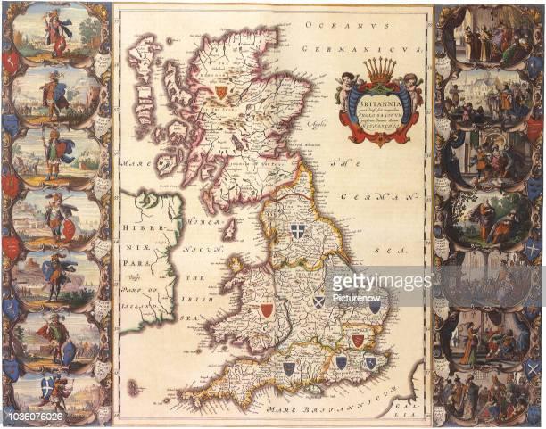 British Isles Map1645.