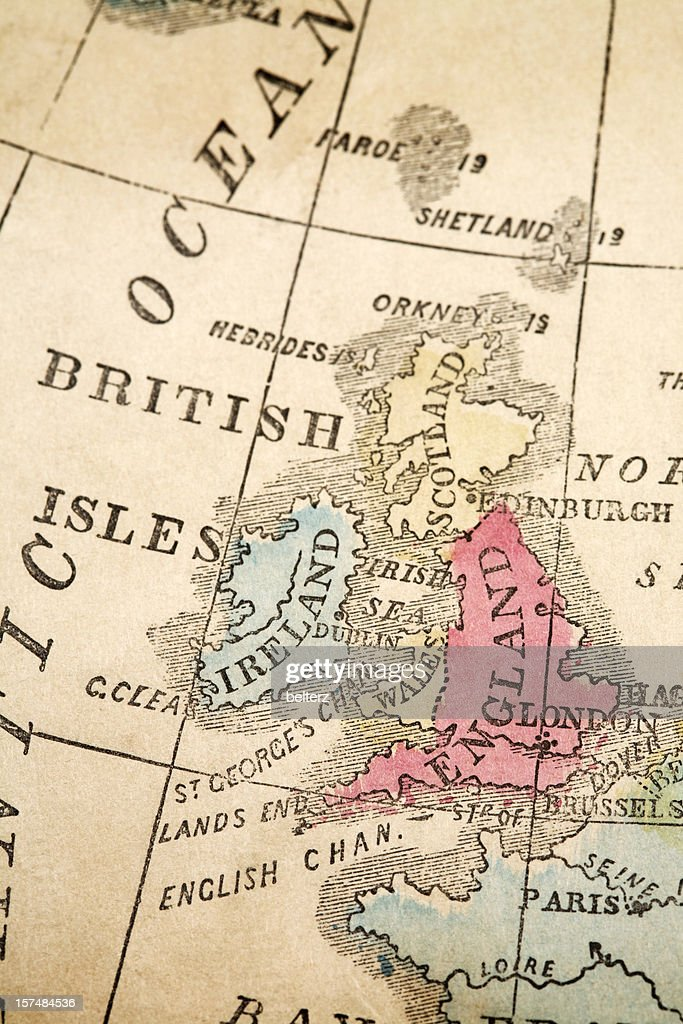 British Isles : Stock Photo