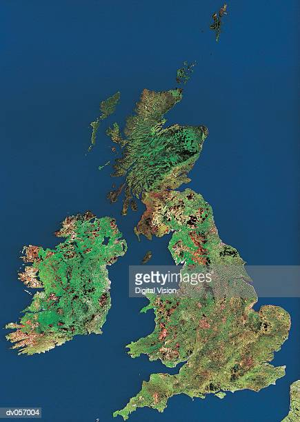 british isles - topography stock pictures, royalty-free photos & images