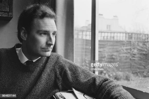 British ITN newscaster and television presenter Peter Snow at his home in Hampstead London December 1966
