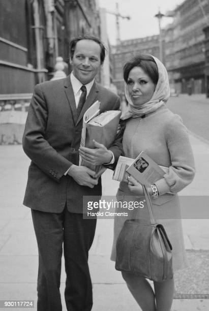 British jazz composer saxophonist clarinetist John Dankworth and his wife British jazz and pop singer Cleo Laine UK 25th July 1968