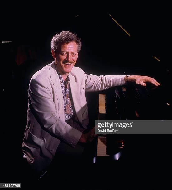 British jazz pianist John Taylor on stage circa 19801990