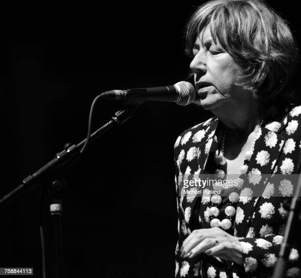British jazz singer Norma Winstone at her 75th Birthday Gala at Cadogan Hall London 16th November 2016 She is performing with the Royal Academy...